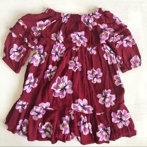 [Old Navy] Floral Tiered Ruffle Details Dress